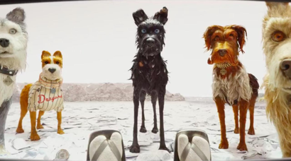 Film still from <em>Isle of Dogs</em>. Image courtesy of Fox Searchlight Distribution.