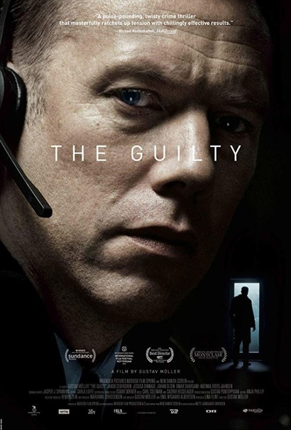 Film poster from The Guilty. Image courtesy of Rialto Distribution.