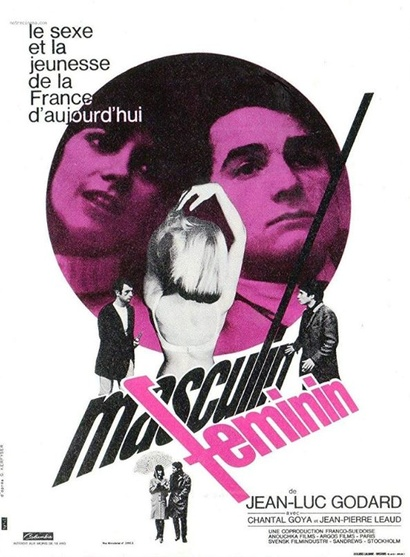 Film poster from <em>Masculin Feminin</em>