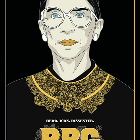 Film poster from <em>RBG</em>. Image courtesy of Icon Films