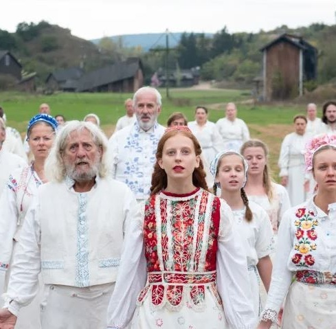 <em>Film still from Midsommar</em>. Courtesy Roadshow Distribution