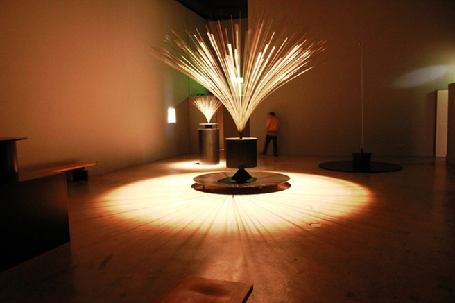 Len Lye <em>Fountain</em> 1959 (installation view). Collection of the Whitney Museum of American Art. Photo Jerry C Gonzales