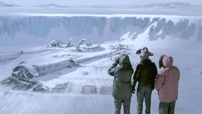 Film still from The Thing. Image courtesy of Roadshow Distribution.