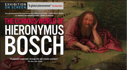 Poster for <em>The Curious World of Hieronymous Bosch</em>. Image courtesy of Rialto Distribution