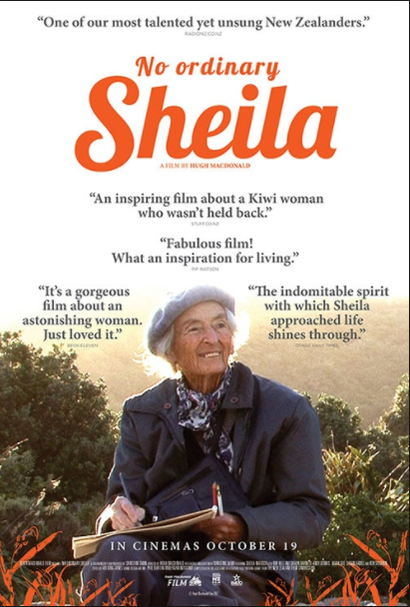 Poster for <em>No Ordinary Sheila</em>. Image courtesy of Rialto Distribution