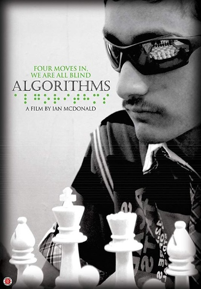 Film poster from Algorithms. Image courtesy of British Council New Zealand.