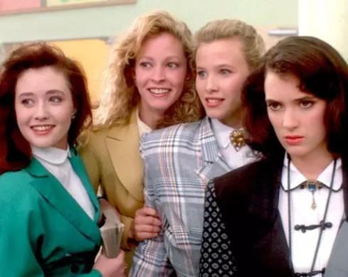 Film still from <em>Heathers</em>. Image courtesy of Umbrella Distribution