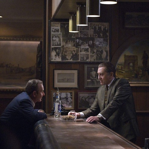 Film still from <em>The Irishman</em>
