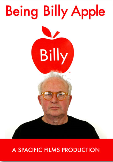 Poster for <em>Being Billy Apple</em> film.