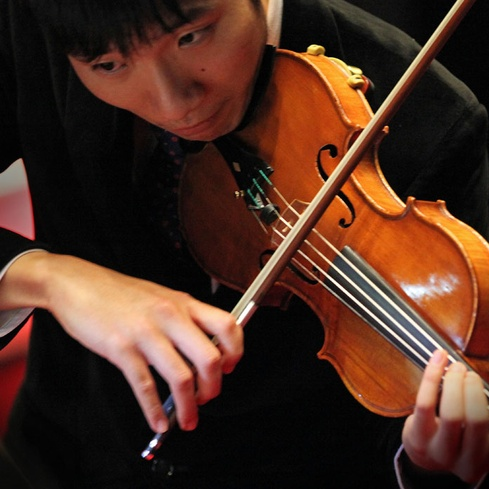 Auckland Philharmonia Orchestra violinist James Jin