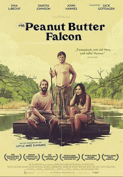 Film poster from <em>The Peanut Butter Falcon</em>