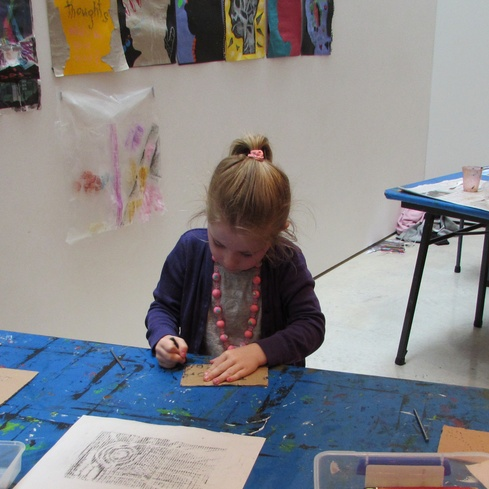 Getting creative at the Govett-Brewster Art Gallery/Len Lye Centre, inspired by the current exhibitions