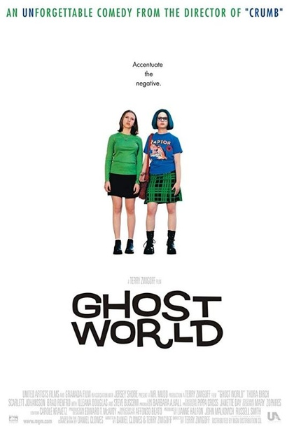 Film poster for <em>Ghost World</em> Image Courtesy of Roadshow Distribution