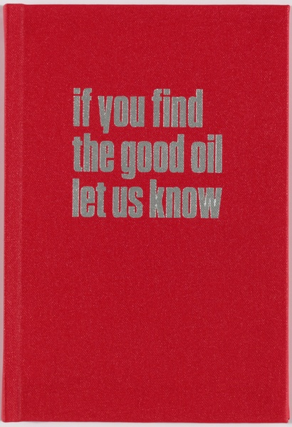 Maddie Leach <em>If you find the good oil let us </em>know
