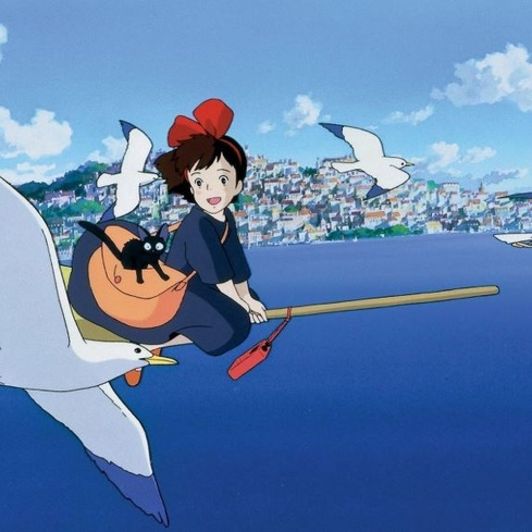 Film still from Kiki's Delivery Service. Image courtesy of Madman Distribution.