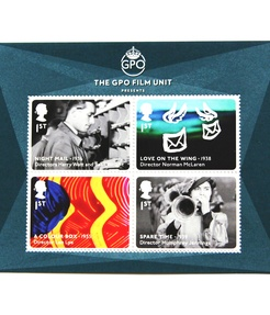 "Stamp of approval for Len Lye: Royal Mail honours ""A Colour Box"""