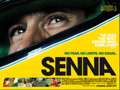 Poster for <em>Senna</em>. Image courtesy of the British Council