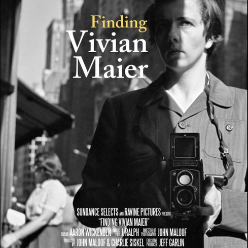 Poster for <em>Finding Vivian Maier</em>. Image courtesy of West End Films