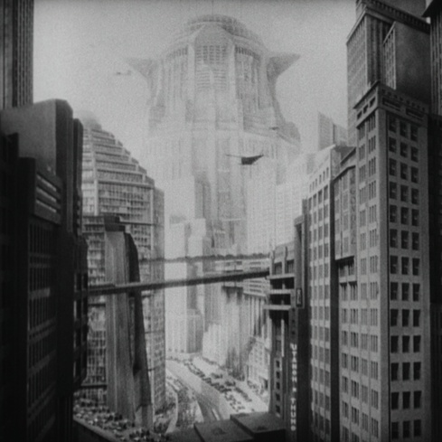 Film still from Metropolis (1927)