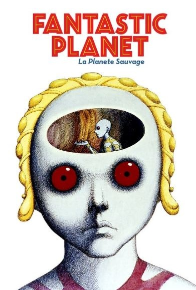 Film poster from Fantastic Planet. Image courtesy of Park Circus Distribution.