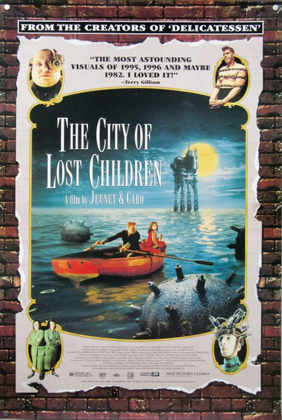 Film poster from <em>The City of Lost Children</em>. Image courtesy of Roadshow Distribution.