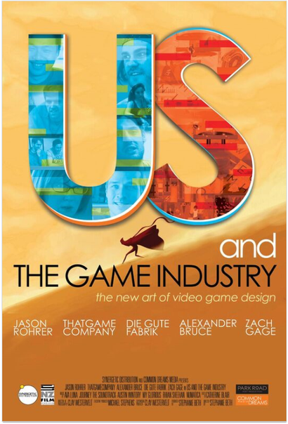Poster for <em>Us and the Game Industry</em>