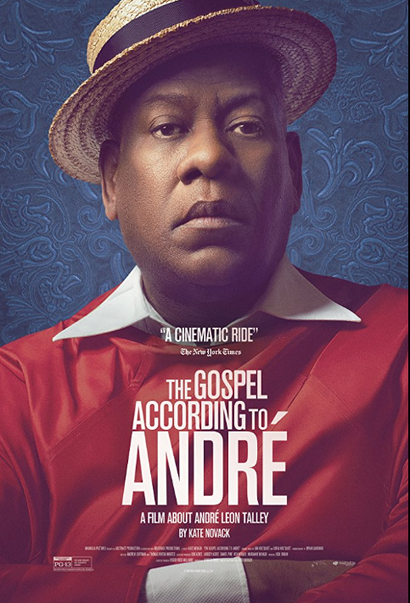 Film poster from <em>The Gospel According to Andre</em>. Image courtesy of Madman Distribution.