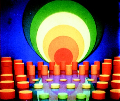 Oskar Fischinger <em>Komposition in Blau</em> 1935, digital transfer from 35mm. Courtesy of the Center for Visual Music
