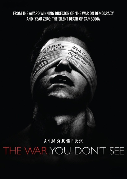 Poster for <em>The War You Don't See</em> 2010. Image courtesy of the British Council