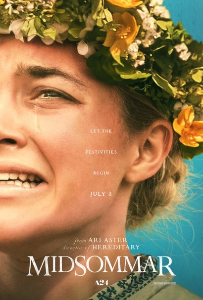 <em>Film poster from Midsommar</em>. Courtesy Roadshow Distribution