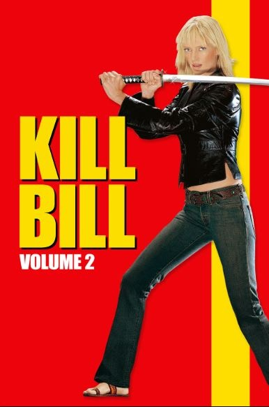 Film poster from Kill Bill: Vol.2. Image courtesy of Roadshow Distribution.