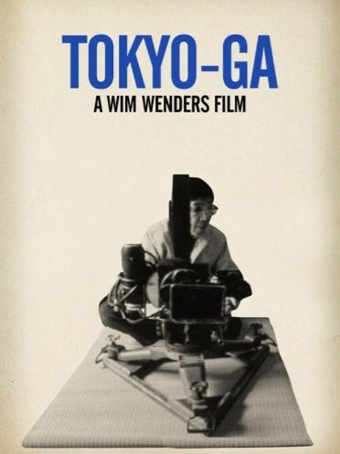 Film poster from Tokyo-Ga. Image courtesy of Goethe Institut New Zealand.