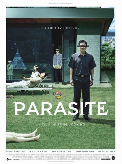 Film still from Parasite. Image courtesy of Madman Distribution.