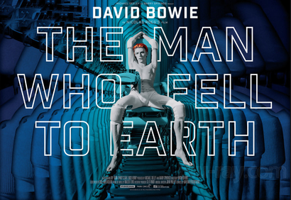 Poster for <em>The Man Who Fell To Earth</em>. Courtesy of Roadshow Films