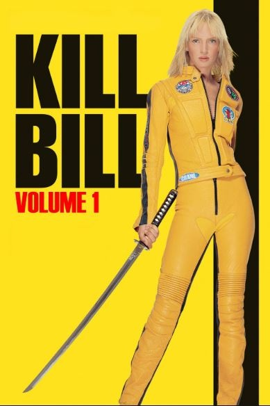 Film poster from Kill Bill: Vol.1. Image courtesy of Roadshow Distribution.
