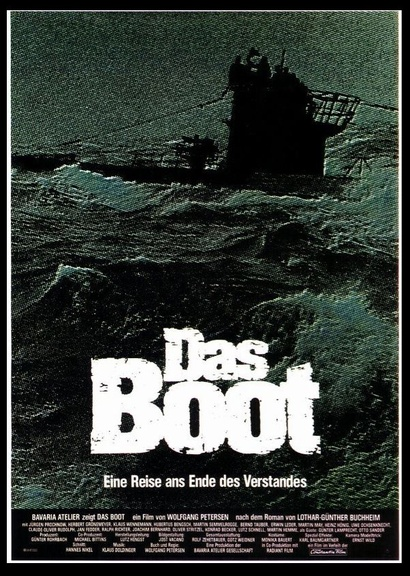 Film poster from Das Boot. Image courtesy of Roadshow Distribution.