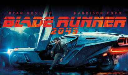 Film poster from <em>Blade Runner 2049</em>. Image courtesy of Roadshow Distribution.