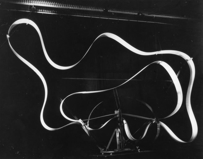 Len Lye <em>Ribbon Snake</em> 1965. Len Lye Foundation Collection, Govett-Brewster Art Gallery