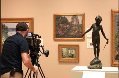 Film still from <em>The Artists Garden: American Impressionism</em>. Image courtesy of Rialto Distribution