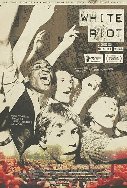 Film poster from <em>White Riot</em>