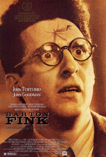 Poster for <em>Barton Fink</em>. Image courtesy of Roadshow Distribution
