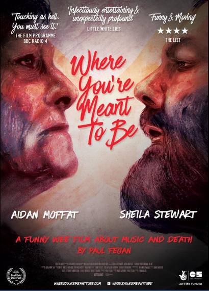 Poster for <em>Where You're Meant To Be</em>. Image courtesy of the British Council