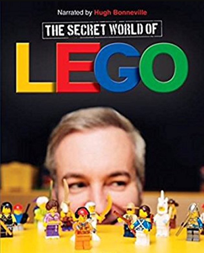Film poster from <em>The Secret World of Lego</em>. Image courtesy of Goethe-Institut New Zealand.