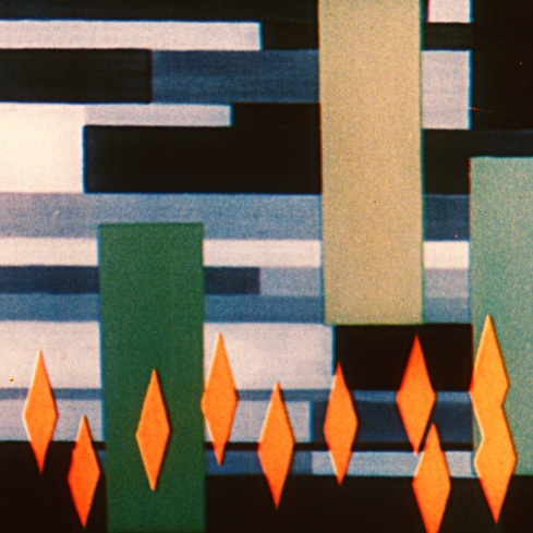 Oskar Fischinger <em>Radio Dynamics</em> 1942. Courtesy of the Center for Visual Music