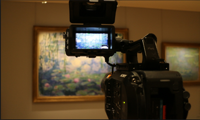 Film still from <em>I, Claude Monet</em>. Image courtesy of Rialto Distribution.